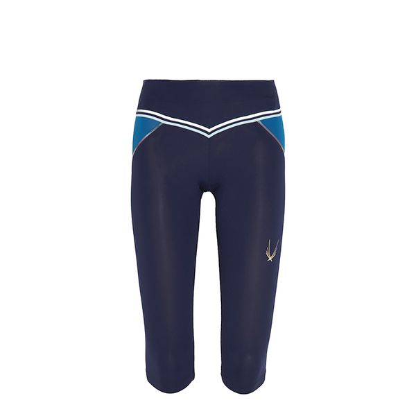 Lucas High Shard Capri Leggings