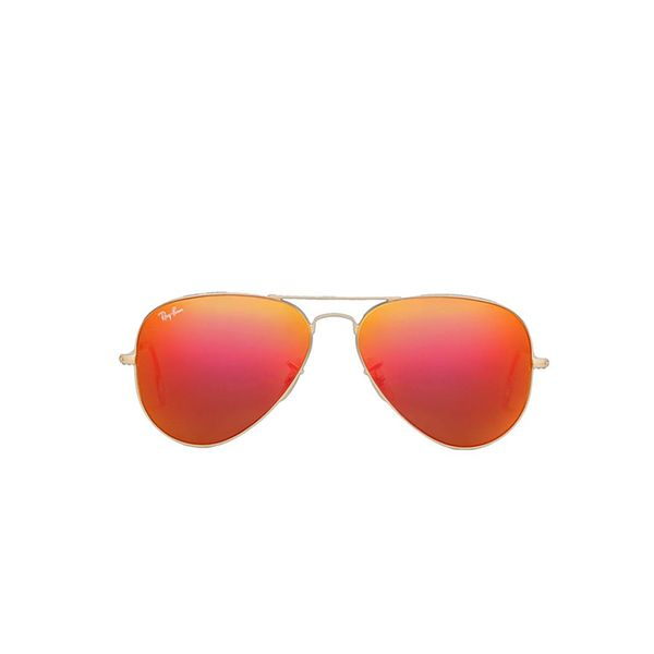 Ray-Ban Large Metal Flash Lens Aviator