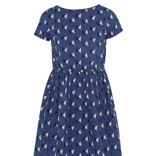 Chinti And Parker Printed Cotton Dress