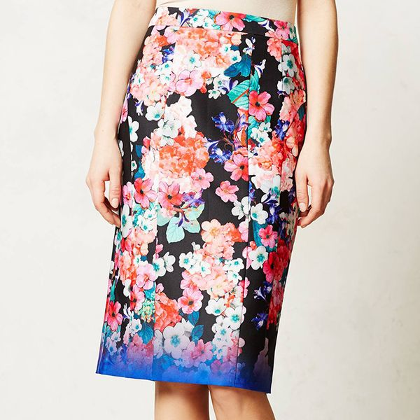 Anthropologie Near Wild Pencil Skirt