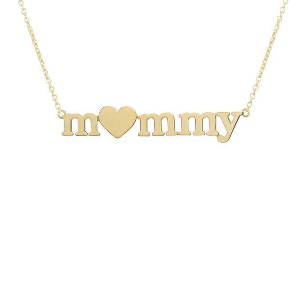 Jennifer Meyer M<3mmy Necklace to Benefit Baby2Baby