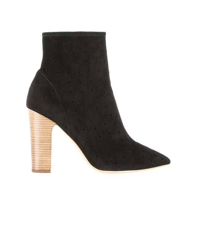 See By Chloé Perforated Suede Ankle Boots ($360)