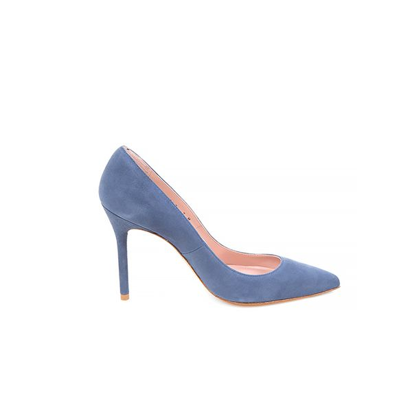 Stuart Weitzman For Scoop Exclusive Suede Pumps