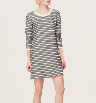 Lou & Grey Specklestripe Shift Dress