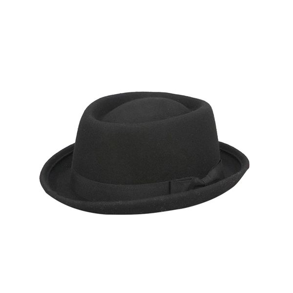Urban Outfitters Felt Rolled Brim Porkpie Hat
