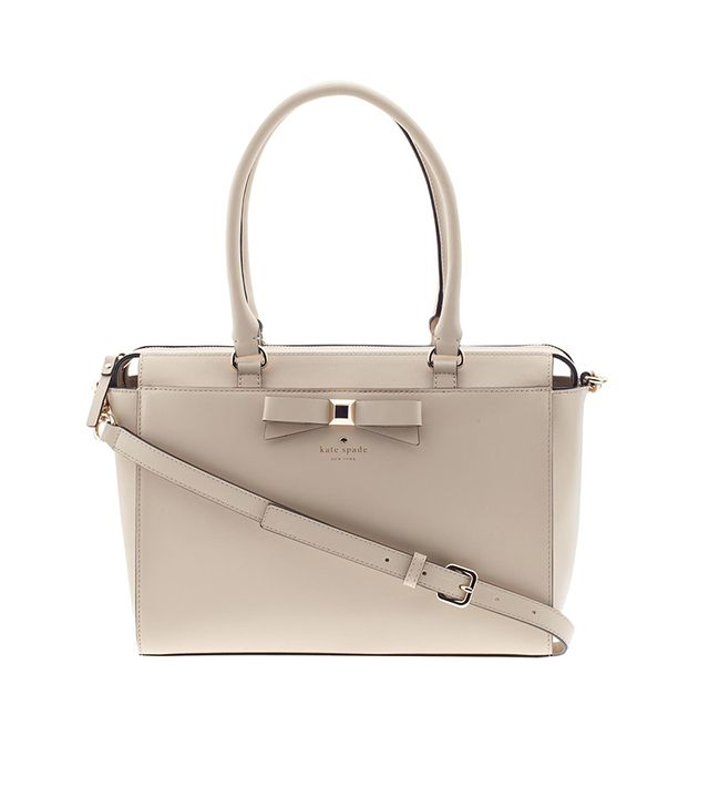 Kate Spade New York Holly Street Jeanne Tote ($428) in Beige