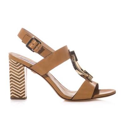 Diane Von Furstenberg Padme Sutra Chain Sandals