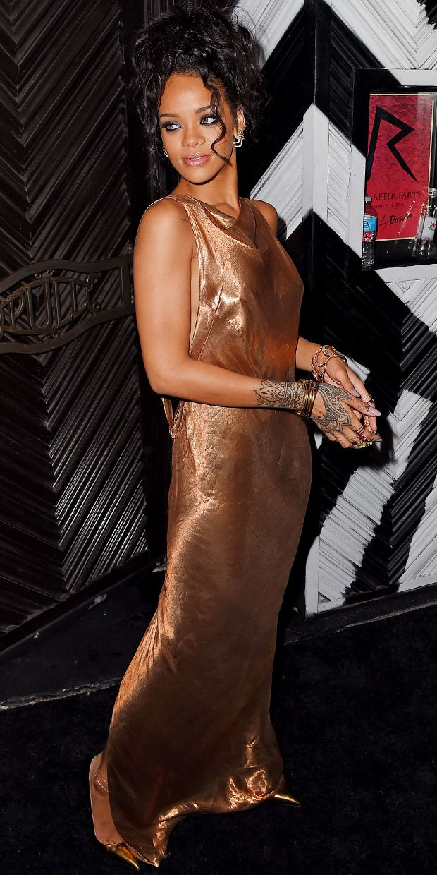 Rihanna's Ultra-Revealing Met Gala After Party Dress