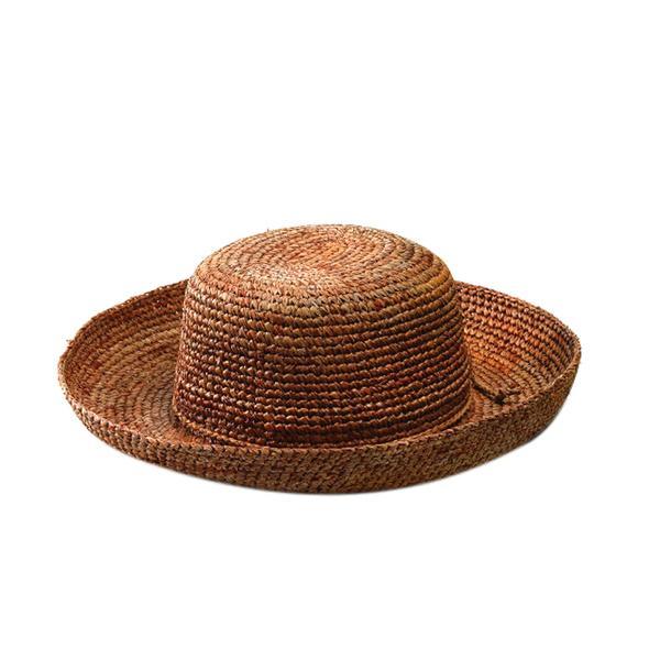 San Diego Hat Company Crocheted Raffia Hat