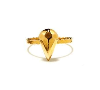 Bing Bang  Bing Bang Diamond Teardrop Ring