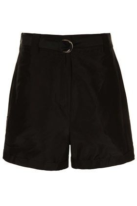 J.W. Anderson for Topshop  J.W. Anderson for Topshop Silk Taffeta Shorts