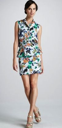 Sachin + Babi  Sachin + Babi Coronado Sleeveless Dress