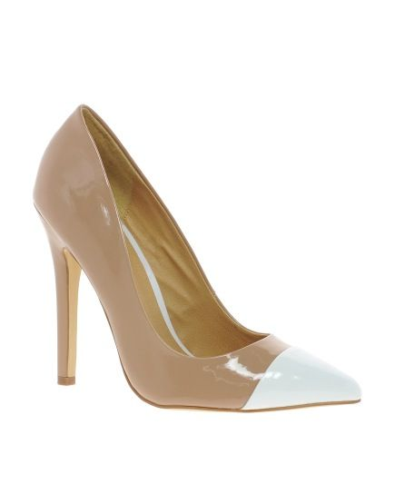 ASOS PROXY  ASOS PROXY Pointed High Heels with Toe Cap