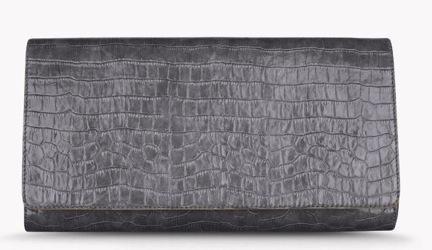 Stella McCartney Grey Oversized Clutch