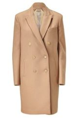 No.21  Camel Double-Breasted Coat