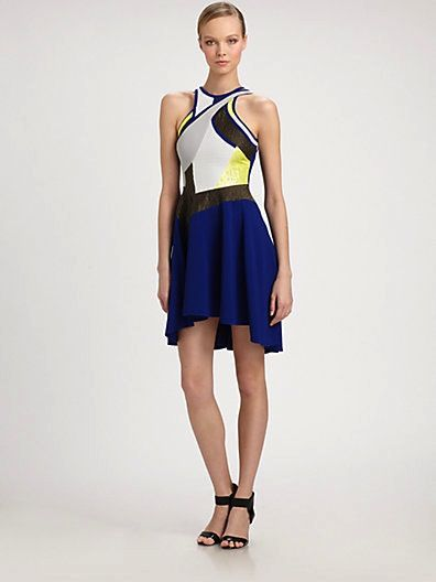 Antonio Berardi  Patchwork Dress