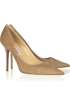Jimmy Choo Jimmy Choo Abel Suede Pumps