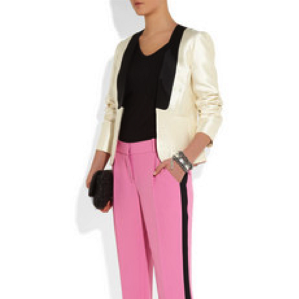 Diane von Furstenberg Modern Tux Style