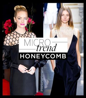 The Latest Buzz-Worthy Trend? Chic Honeycomb Patterns.