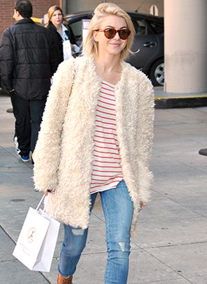 Julianne Hough Steals The Spotlight With Her Chic Style.