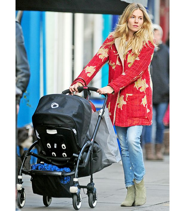 A Closer Look At Sienna Miller's Stylish Stroller Style