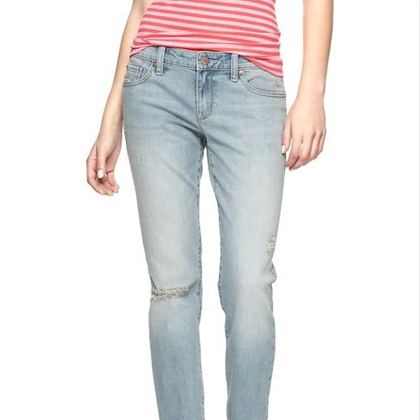 1969 Gap  Destructed Always Skinny Skimmer Jeans