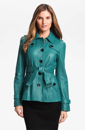 Classiques Entier  Classiques Entier Brenna Leather Trench Jacket
