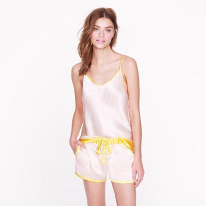 J.Crew Silk Contrast Shorts