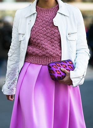 A Street Style Guide To Wearing Brights Now, From Adam Katz Sinding.