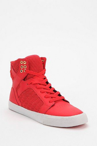 Supra Tonal Mesh SkyTop High-Top Sneakers