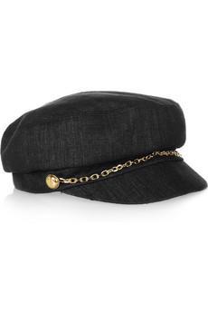 Eugenia Kim Elyse Woven-Silk Hat