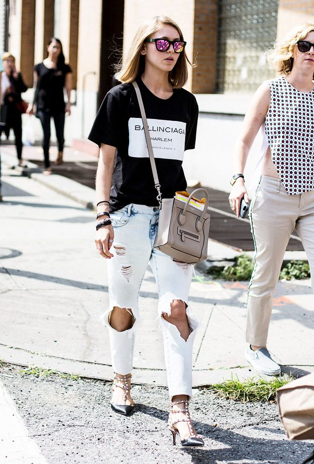 Tip of the Day: Distressed Denim