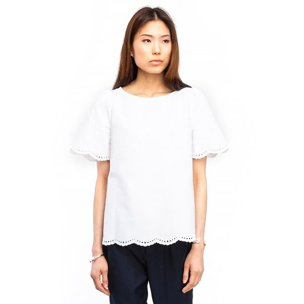 A.P.C. Top Brode Oxford