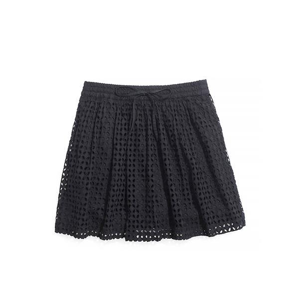 Madewell Bayfront Eyelet Skirt