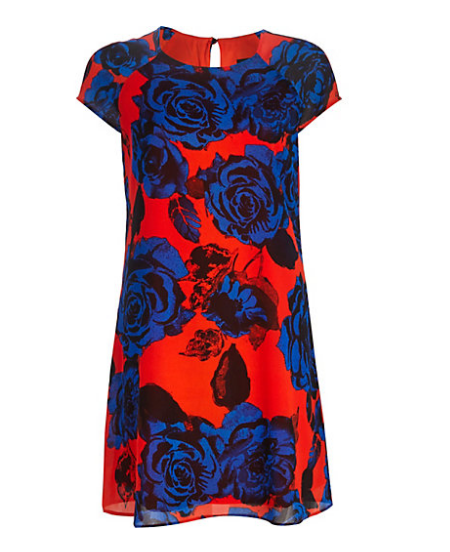 River Island Floral Swing Dress