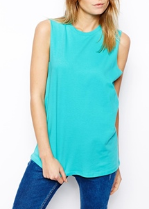 ASOS Sleeveless Boyfriend Tank