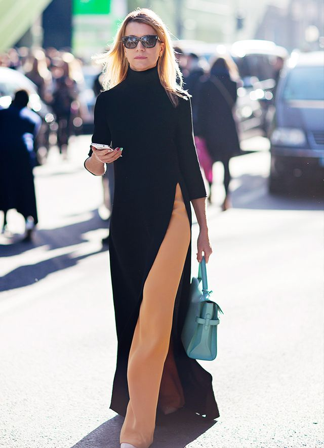 Trick 11: Asymmetrical hems work in your favor. 