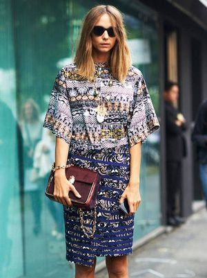 7 Ways To Mix Prints For Spring, See The Street Style Inspiration