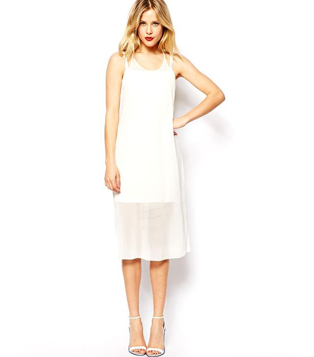 ASOS Sheer Overlay Mini Dress ($66)