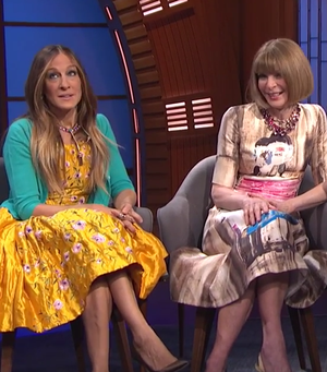 The Hilarious Reason Why SJP Got Reprimanded By Anna Wintour