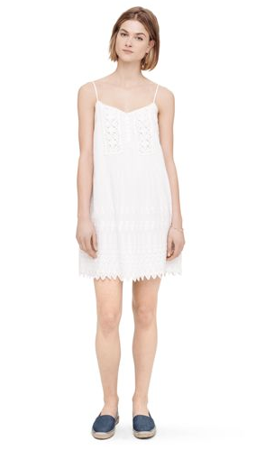 Club Monaco Warren Eyelet Dress