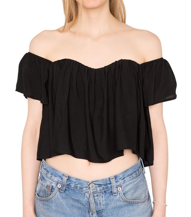 Pixie Market Babe Crop Top ($38)