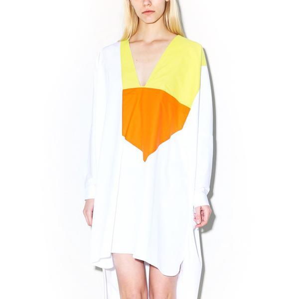 Marios Multicolor Neck Kaftan Dress