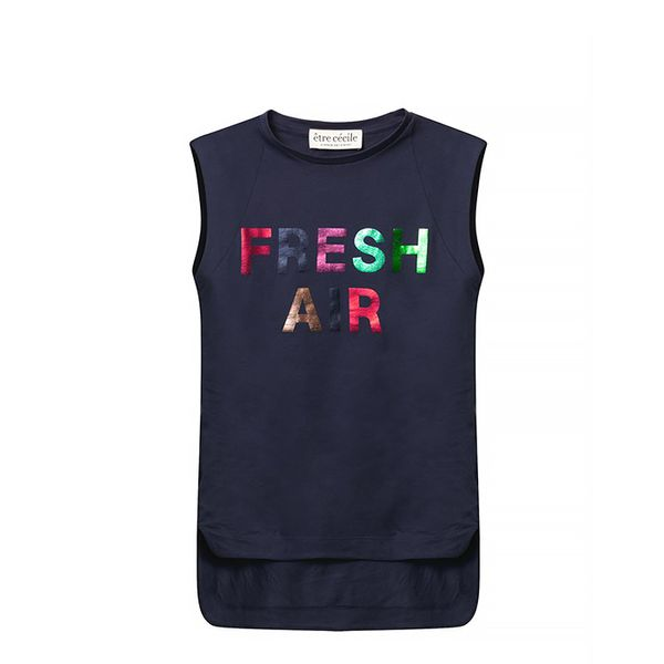 Etre Cécile Fresh Air Print T-Shirt