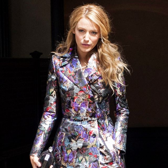 Blake Lively's Show-Stopping Trench Coat
