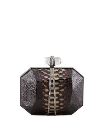 Marchesa Iris Box Clutch