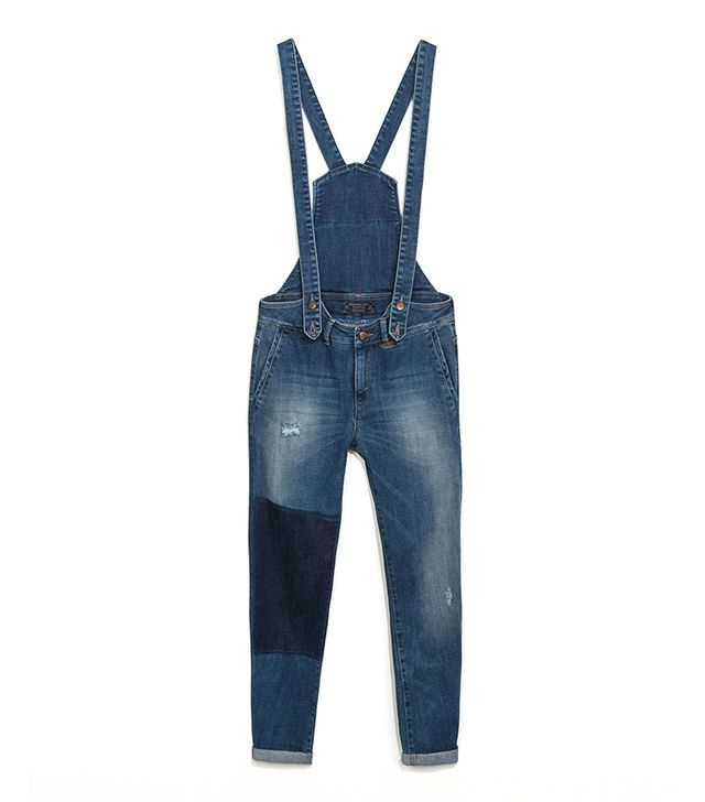 Zara Denim Dungarees ($80)  ?These would look fun and flirty with a floral shirt and wedges.