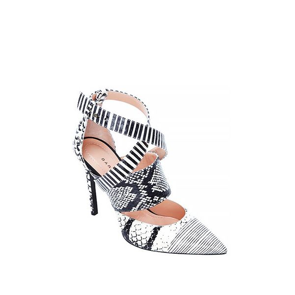 Barbara Bui Printed Strappy Stiletto Pumps