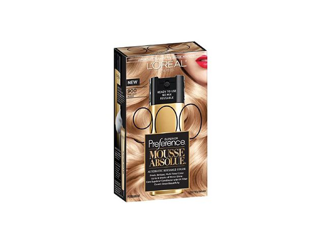 L'Oréal Paris Superior Preference Mousse Absolue Automatic Reusable Color