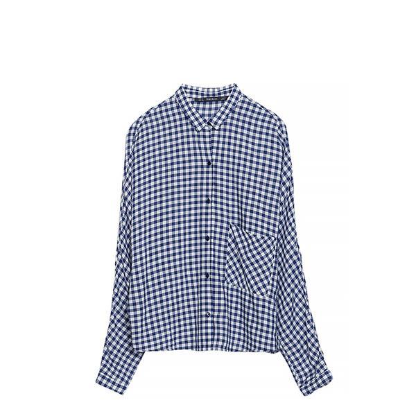 Zara Gingham Shirt